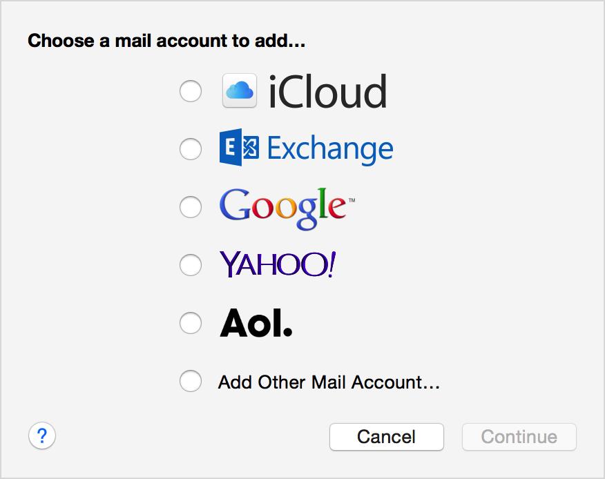 how to set up zoho mail on mac